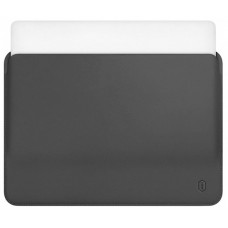"13.3"" Чехол WIWU Skin Pro Leather Sleeve для MacBook Pro (серый)"