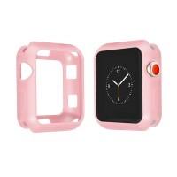 Бампер силиконовый для Apple Watch 44мм (розовый)