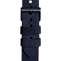 Ремешок для Apple Watch 40мм Leather band & case (синий)