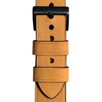 Ремешок для Apple Watch 44мм Leather band & case (коричневый)