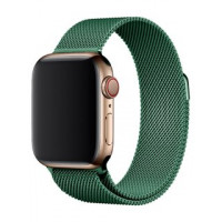 Миланский браслет COTEetCI для Apple Watch 42/44mm (зеленый)