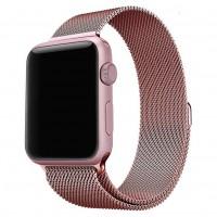 Миланский браслет COTEetCI для Apple Watch 42/44mm (розовое золото)