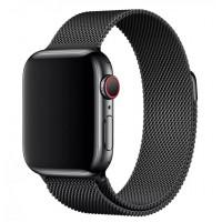 Миланский браслет для Apple Watch 38/40mm (черный)