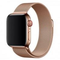 Миланский браслет для Apple Watch 38/40mm (золото)