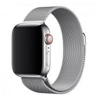 Миланский браслет для Apple Watch 38/40mm (серебро)