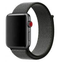 Браслет нейлоновый для Apple Watch 38/40мм (коричневый)