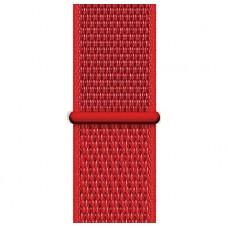 Браслет нейлоновый для Apple Watch 38/40мм (красный)