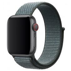 Браслет нейлоновый для Apple Watch 38/40мм (грозовое небо)
