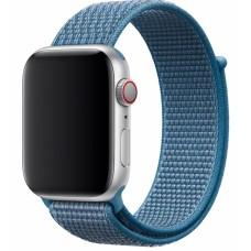 Браслет нейлоновый для Apple Watch 38/40мм (лазурная волна)