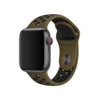 Спортивный ремешок Nike для Apple Watch 42/44mm (Dark Green)