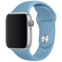 Силиконовый ремешок для Apple Watch 42/44mm (Сornflower)