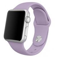 Силиконовый ремешок для Apple Watch 42/44mm (Light Orhid)