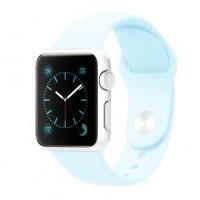 Силиконовый ремешок для Apple Watch 38/40mm (Sky Blue)