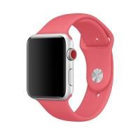 Силиконовый ремешок для Apple Watch 38/40mm (Apricot pink)