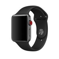 Силиконовый ремешок для Apple Watch 42/44mm (Black)