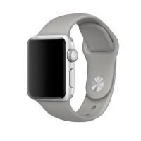 Силиконовый ремешок для Apple Watch 38/40mm (Concrete)
