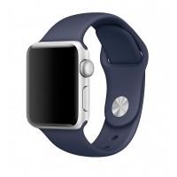 Силиконовый ремешок для Apple Watch 42/44mm (Midnight Blue)