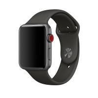Силиконовый ремешок для Apple Watch 38/40mm (Gray)