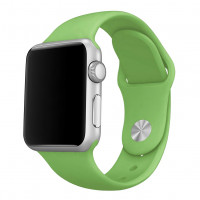 Силиконовый ремешок COTEetCI для Apple Watch 38/40mm (Green)