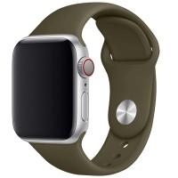 Силиконовый ремешок COTEetCI для Apple Watch 38/40mm (Khaki)