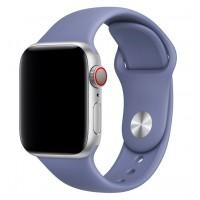 Силиконовый ремешок COTEetCI для Apple Watch 42/44mm (Lavender Gray)