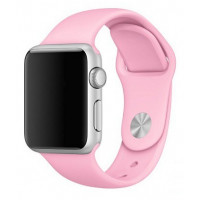 Силиконовый ремешок для Apple Watch 38/40mm (Light pink)