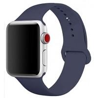 Силиконовый ремешок для Apple Watch 38/40mm (Midnight Blue)
