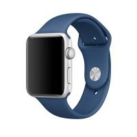 Силиконовый ремешок для Apple Watch 42/44mm (Ocean blue)