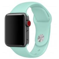 Силиконовый ремешок COTEetCI для Apple Watch 42/44mm (Sea Blue)