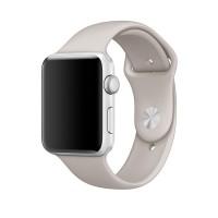 Силиконовый ремешок для Apple Watch 42/44mm (Stone)