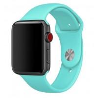 Силиконовый ремешок для Apple Watch 42/44mm (turquoise)