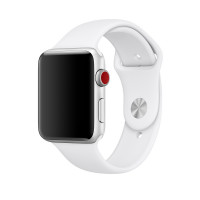 Силиконовый ремешок COTEetCI для Apple Watch 38/40mm (White)