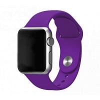 Силиконовый ремешок для Apple Watch 38/40mm (Violet)