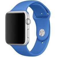 Силиконовый ремешок для Apple Watch 42/44mm (Royal Blue)