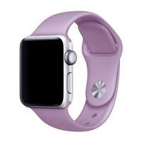 Силиконовый ремешок для Apple Watch 42/44mm (Purple)