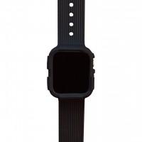 Противоударный ремешок для Apple Watch 40мм (черный)