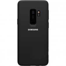 Накладка Silicone Case для Samsung Galaxy S9 Plus (черный)