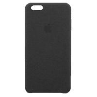 Накладка текстильная для iPhone 6 Plus/6s Plus (темно-серый)