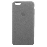 Накладка текстильная для iPhone 6 Plus/6s Plus (серый)