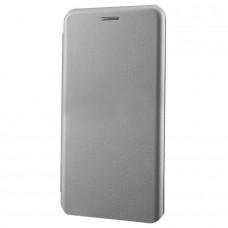 Чехол-книга для iPhone 5/5s/SE (серый)