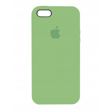 Накладка Silicone Case для iPhone 5/5s/SE (Green)