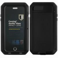 Чехол противоударный LUNATIK TAKTIK для iPhone 7/8  (черный)