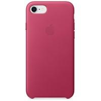 Накладка Leather Case для iPhone 7/8 (Pink Fuchsia)