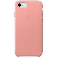 Накладка Leather Case для iPhone 7/8 (Soft Pink)