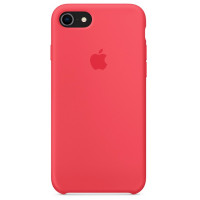 Накладка Silicone Case для iPhone 7/8 (Red Raspberry)