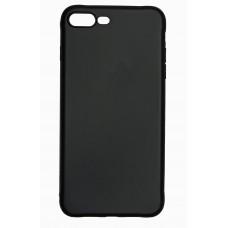 Чехол силиконовый для iPhone 7/8 Plus (черный)