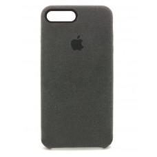 Накладка Alcantara Cover для iPhone 7/8 Plus (Black)