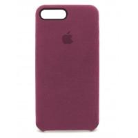 Накладка Alcantara Cover для iPhone 7/8 Plus (Camellia)