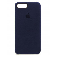 Накладка Alcantara Cover для iPhone 7/8 Plus (Midnight Blue)