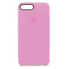 Накладка Alcantara Cover для iPhone 7/8 Plus (Pink)